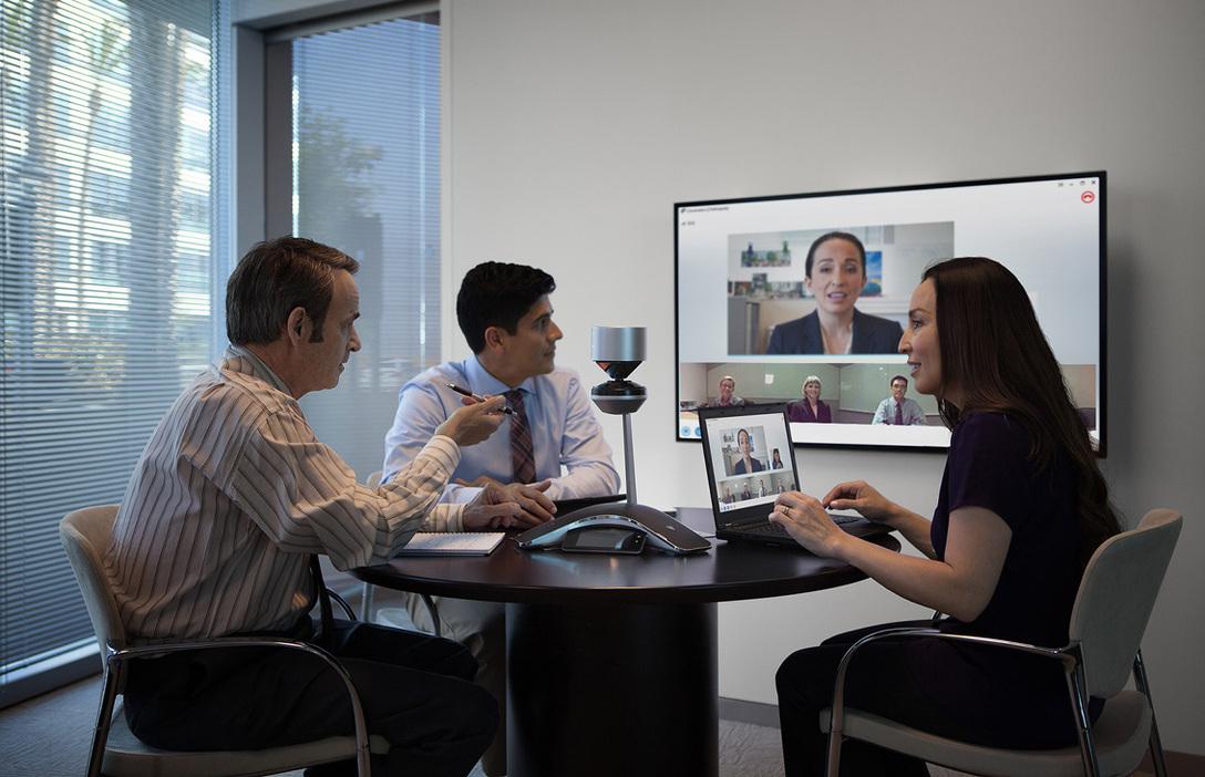 Videokonferenz Polycom-CX5100-CX5500
