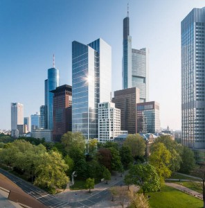 Videokonferenz im TaunusTurm Frankfurt