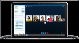 Videokonferenz skype for business